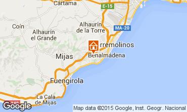 Karte Benalmádena Villa 9621