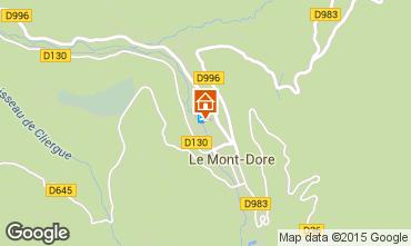 Karte Le Mont Dore Appartement 50842