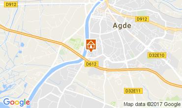 Karte Agde Appartement 62057