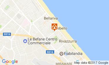 Karte Rimini Appartement 107913