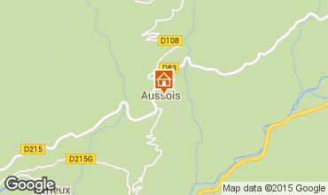 Karte Aussois Appartement 390