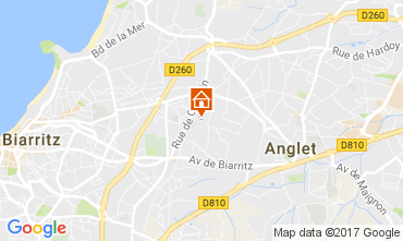 Karte Biarritz Haus 88875