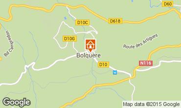 Karte Bolquère Pyrenées 2000 Appartement 3982