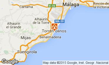 Karte Torremolinos Studio 32036
