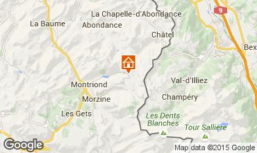 Karte Avoriaz Chalet 97037