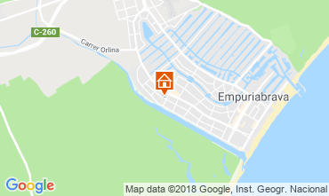Karte Empuriabrava Haus 116096