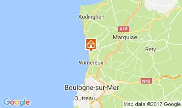 Karte Wimereux Haus 68731