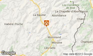 Karte Morzine Chalet 39125