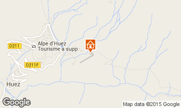 Karte Alpe d'Huez Studio 80013