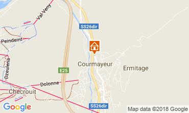 Karte Courmayeur Appartement 55093