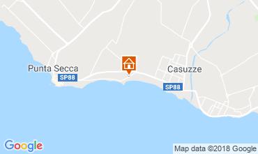 Karte Punta Secca Villa 116102