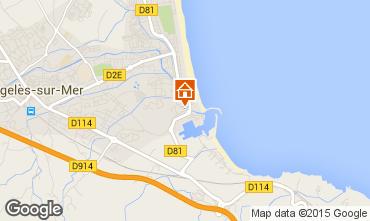 Karte Argeles sur Mer Villa 55482