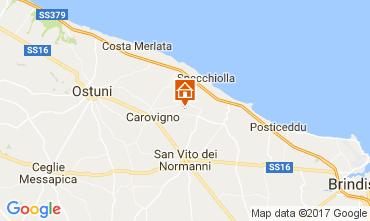 Karte Ostuni Villa 109407
