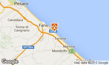 Karte Fano Appartement 86087