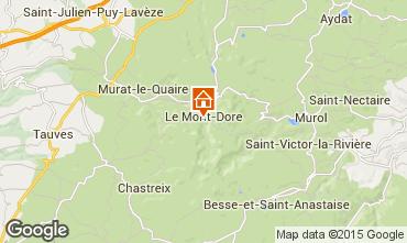 Karte Le Mont Dore Studio 3881