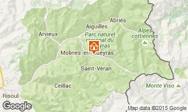 Karte Molines Saint-Véran Appartement 28786