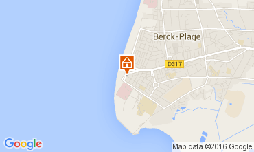 Karte Berck-Plage Studio 78213
