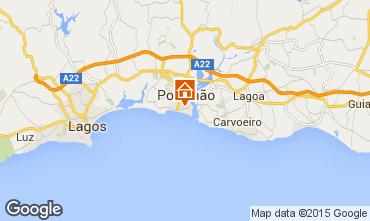 Karte Praia da Rocha Appartement 71391