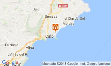 Karte Calpe Chalet 114759