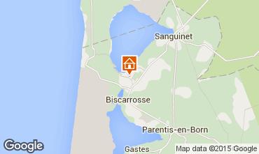 Karte Biscarrosse Chalet 22133