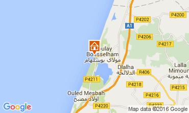 Karte Moulay Bousselham Villa 105873