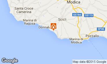 Karte Donnalucata Appartement 102083