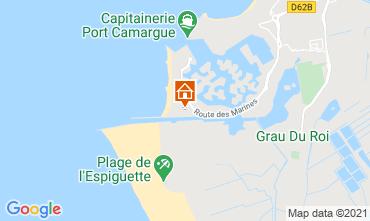 Karte Le Grau du Roi Appartement 104513