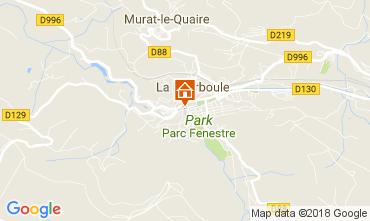 Karte La Bourboule Appartement 113008