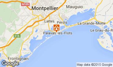 Karte Palavas-les-Flots Haus 69792
