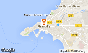 Karte Granville Appartement 86892