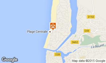 Karte Hossegor Appartement 6463