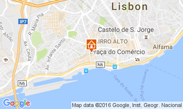 Karte Lissabon Appartement 106237
