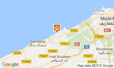 Karte Casablanca Appartement 106856