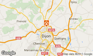 Karte Dijon Appartement 97784