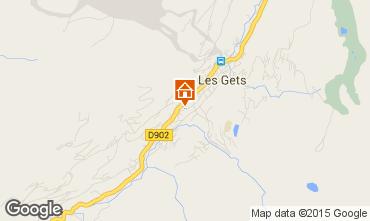 Karte Les Gets Appartement 67586