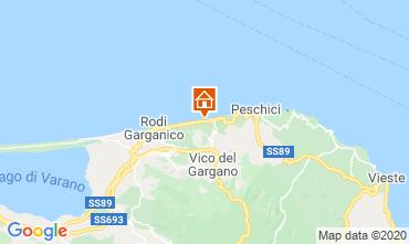 Karte San Menaio Appartement 101780