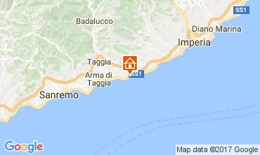 Karte Santo Stefano al Mare Studio 57081