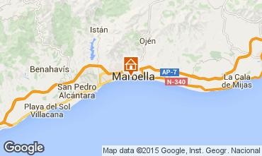 Karte Marbella Appartement 58174