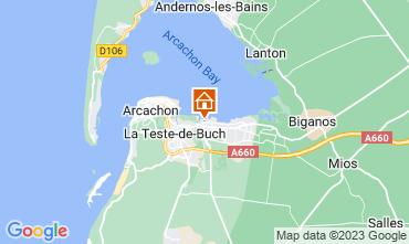 Karte Arcachon Mobil-Home 93639