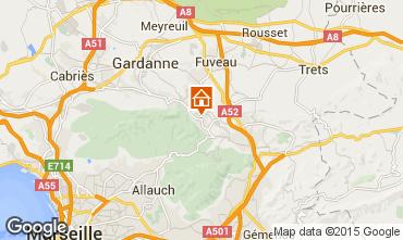 Karte Aix en Provence Haus 81946