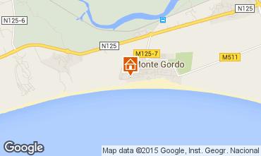 Karte Monte Gordo Appartement 80752