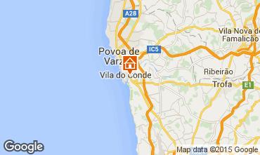 Karte Vila do Conde Chalet 101366