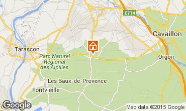 Karte Saint Rémy de Provence Haus 90715