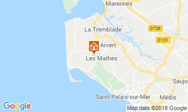Karte Les Mathes Mobil-Home 117166