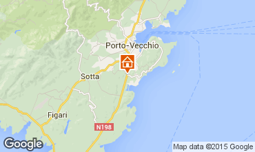 Karte Porto Vecchio Villa 37508