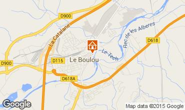 Karte Le Boulou Haus 91124