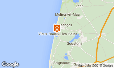 Karte Vieux Boucau Appartement 10068