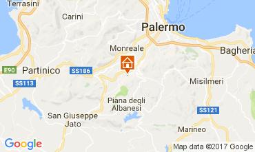 Karte Palermo Villa 110302