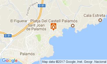 Karte Palamós Haus 112312