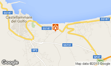 Karte Castellammare del Golfo Villa 76275